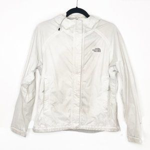 The North Face White Rain Shell